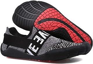 Derbys Homme Chaussures de Plage de Remise en Forme intérieure en Forme de Pied en Bas antidérapantes extérieures Wading C...