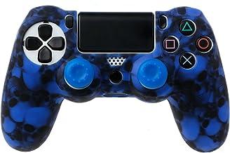 Siwetg - Funda de silicona para mando PS4 Pro Slim Controller