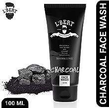 L'BERT Activated Charcoal Face Wash For Men & Women - 100 ml