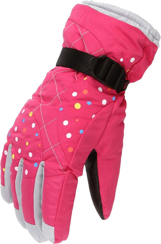 Winter Gloves for Men Women 3M Waterproof Waterwind Ski Thermal Gloves Snowboard Driving Fleece Snow Gloves