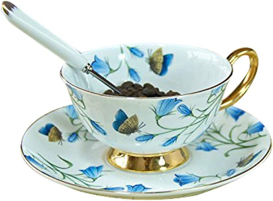 ZZI Portable Tech Euro Style New color Cup and C Saucer China Art Outstanding Bone Set
