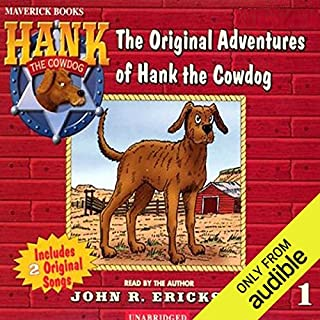 The Original Adventures of Hank the Cowdog audiobook cover art