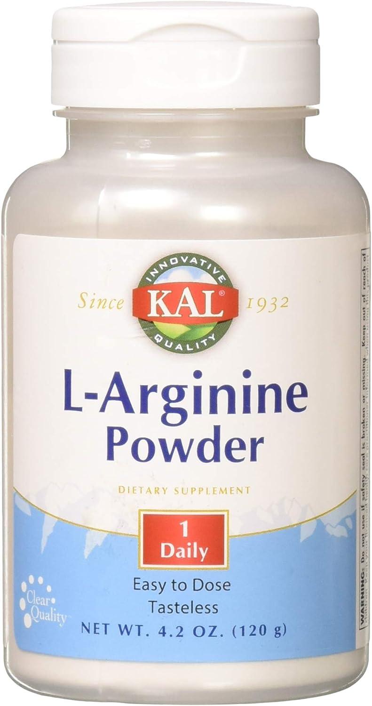 Max 59% Large special price !! OFF KAL L-Arginine 1000mg 60ct