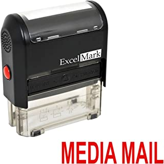 media mail rubber stamp