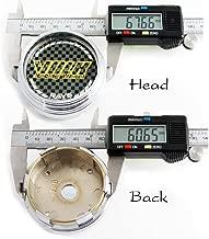 4pcs Volk Racing Hub Caps Wheel Center Back=61mm. Head=67mm.