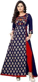 ziya Readymade Cotton Long Women Dress Kurti for Women Formal & Party Wear 96