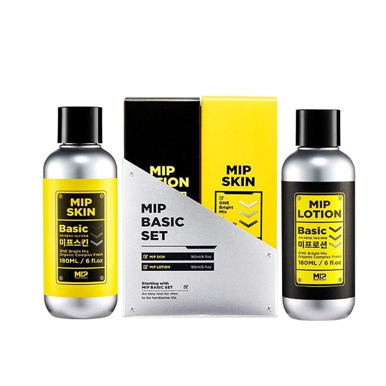 メタルライン内陸余剰ミップスキン180mlローション180mlセットメンズコスメ韓国コスメ、Mip Skin 180ml Lotion 180ml Set Men's Cosmetics Korean Cosmetics [並行輸入品]