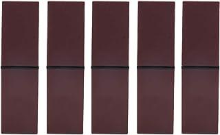 Lot de 5 tubes vides pour rouge à lèvres, étuis, rangement et transport faciles à transporter, rouge et violet