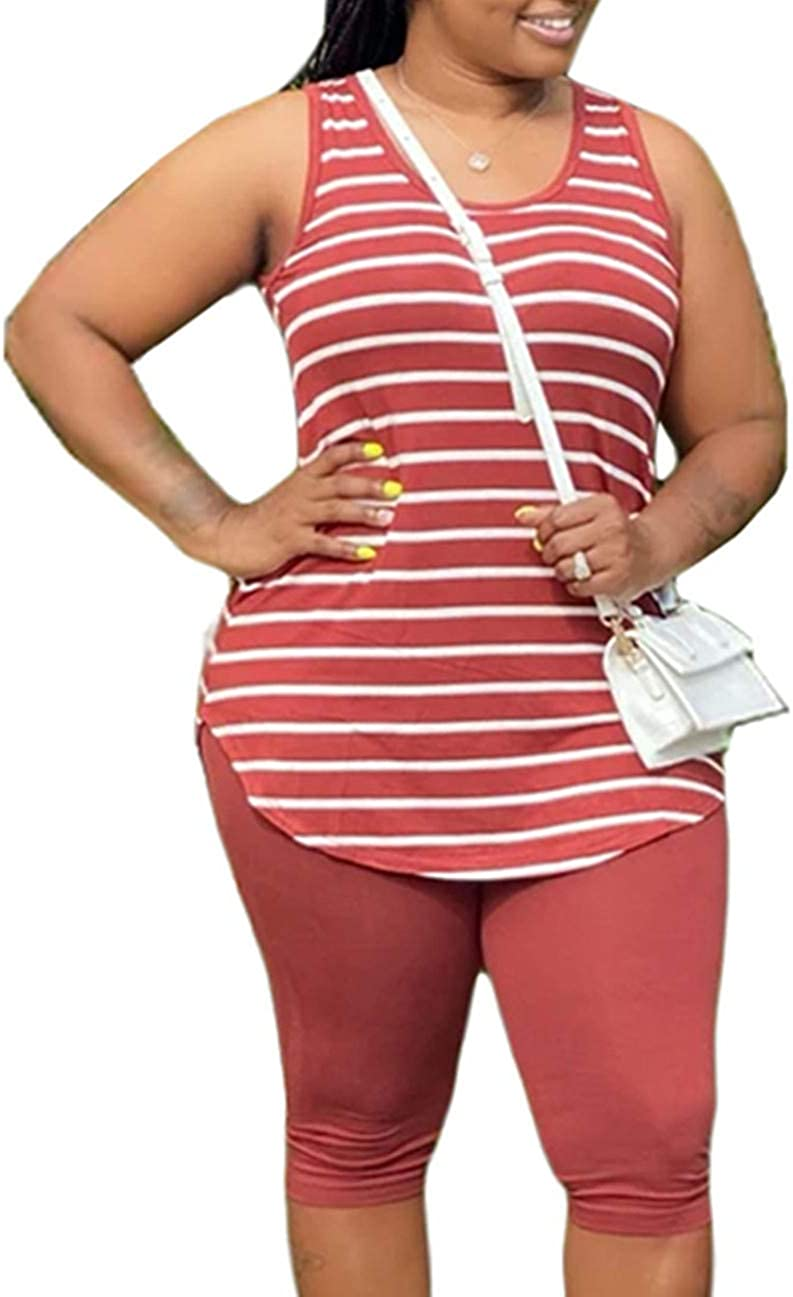 MAYFASEY Women's Plus Size 2 Piece Tracksuit Max 83% OFF Tie specialty shop Dye Sleev Short