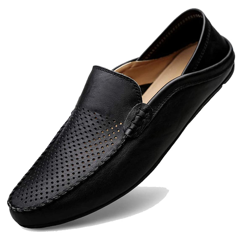 果てしない最大創傷ローファー スリップオン ドライビングシューズ メンズ 本革 デッキシューズ 軽量 モカシン 靴 カジュアルシューズ 2種履き方 手作り 紳士靴 ビジネスシューズ ローカット職場用 スリッポン 大きなサイズ