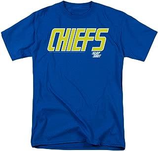 Slap Shot Men's Chiefs Logo T-Shirt Royal