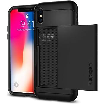 Spigen Slim Armor CS Designed for iPhone Xs Case (2018) - Black