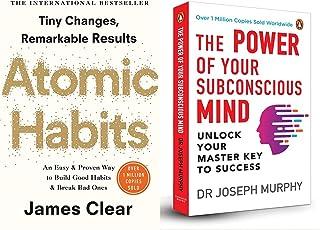 Atomic Habits + The Power of Your Subconscious Mind (Premium Paperback)