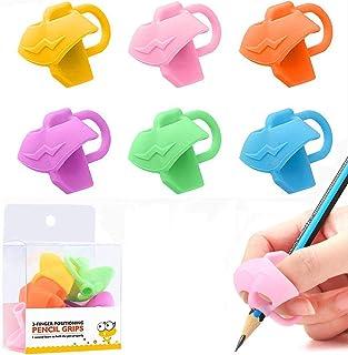 Firesara Original Owl Pencil Grips per bambini ergonomica 3 set di dita per la correzione della postura della calligrafia del trainer Destrieri e mancini 3 pezzi Matita Grip