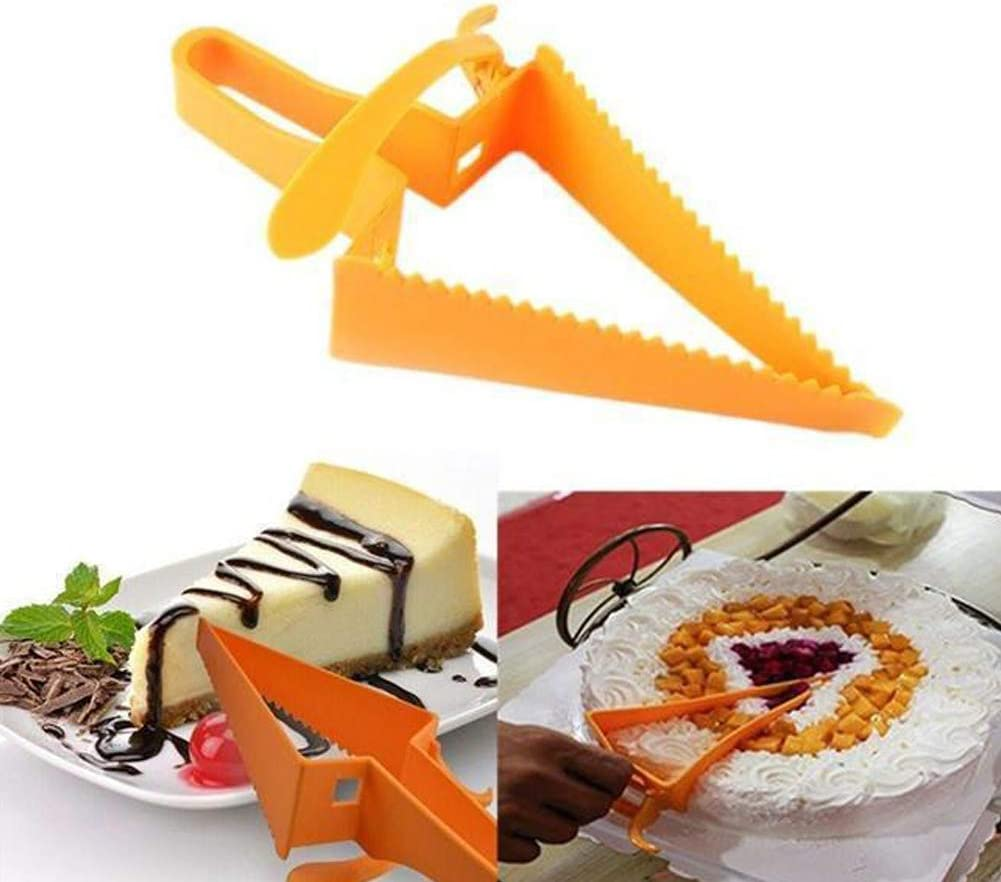 WE-WIN Cake Spatula Cake Server New Cake Pie Slicer Sheet Bread Slice Kitchen Gadget