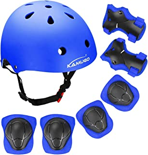 KAMUGO Kids Bike Helmet – Adjustable from Toddler to Youth Size, Ages 3-8 Boys/Girls Multi-Sport Safety Cycling Skating Scooter Helmet