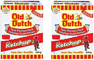 2 Boxes of Old Dutch Ketchup Chips (2 x 220G) Bundle {Imported from Canada}