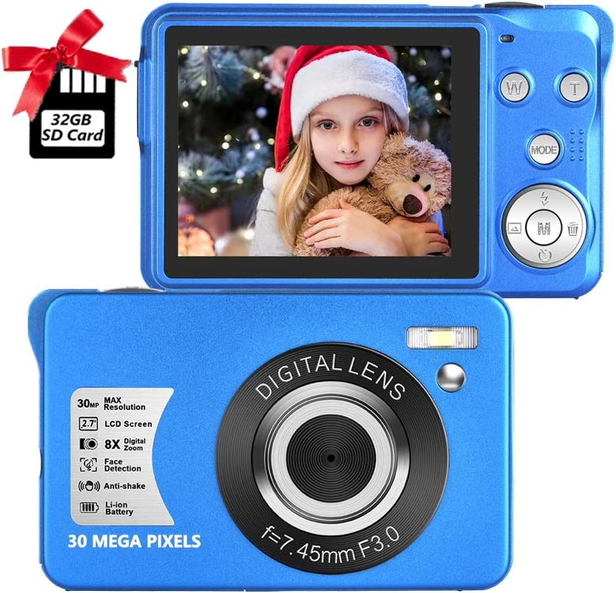 Digital Camera 2.7 Inch Compa LCD Max 71% OFF HD Rechargeable Outlet SALE