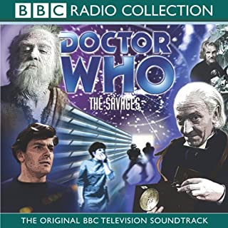 Doctor Who: The Savages audiobook cover art