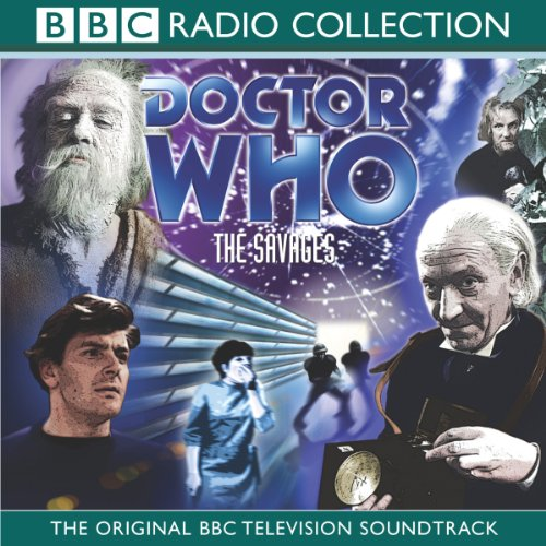 Couverture de Doctor Who: The Savages