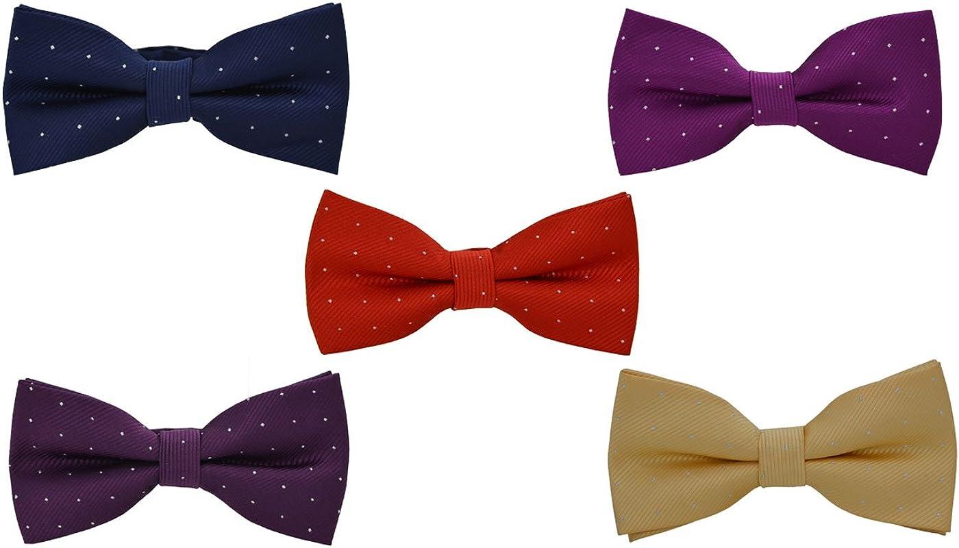 SYAYA Adjustable Bow Ties for Men Pre Tied Bowtie Party Wedding Tuxedo Tie BT2
