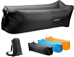 JSVER Air Sofa, Inflatable Loungers Inflatable Couch for Travelling, Outdoor, Camping, Hiking, Beach Parties, Picnic, Backyard, Lakeside, air Hammock Inflatable Lounger