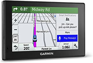 Garmin DriveSmart 50LMT 5in Portable GPS Navigator w/ Lifetime Maps & Traffic (Renewed)