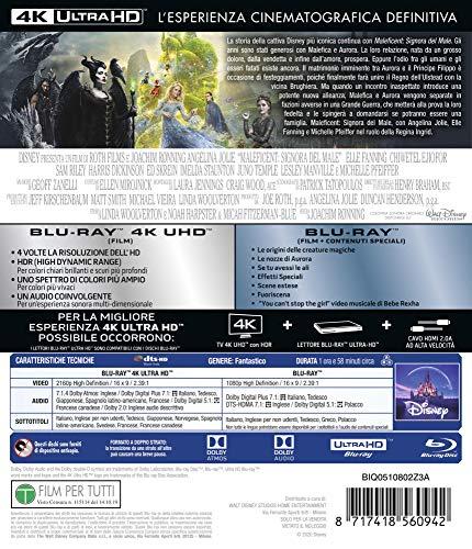 Maleficent: Signora Del Male 4K (2 Blu Ray)