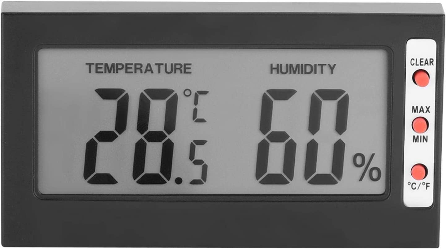 Miskall Digital 2021 spring wholesale and summer new LCD Thermo-Hygrometer Temperatur Precision High