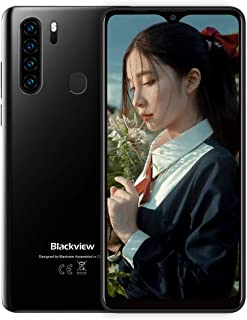 Blackview A80 Plus スマートフォン本体 6.49インチ 4GB RAM + 64GB ROM SIMフリースマホ Android 10 オクタコア スマホ本体 4680mAh 13MP+ 8MP カメラ NFC デュアル4G ...