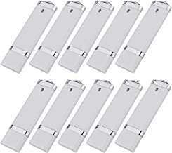 KEXIN 10pcs 1GB USB Flash Drive USB2.0 Flash Drive Pen Drive Memory Stick White