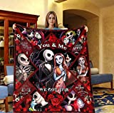Sophia - Funny Happy Valentine Jack and Sally You and Me We Got This Fleece Blanket (50' x 60', 60' x 80')