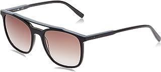 نظارة لاكوست مستطيلة للرجال، هافانا توكي/اخضر