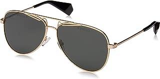 Kính mắt cao cấp nam – Unisex-Adult Pld 6048/s/x Polarized Aviator Sunglasses, Gold, 60 mm