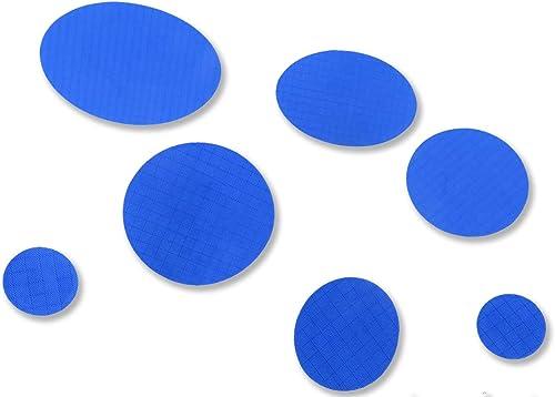 Coat Suit Mat Self Adhesive Repair Patches Patch Mending Tape Applique Blue
