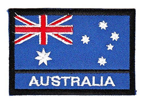 Patch Flagge Australien Aufnäher Bügelbild