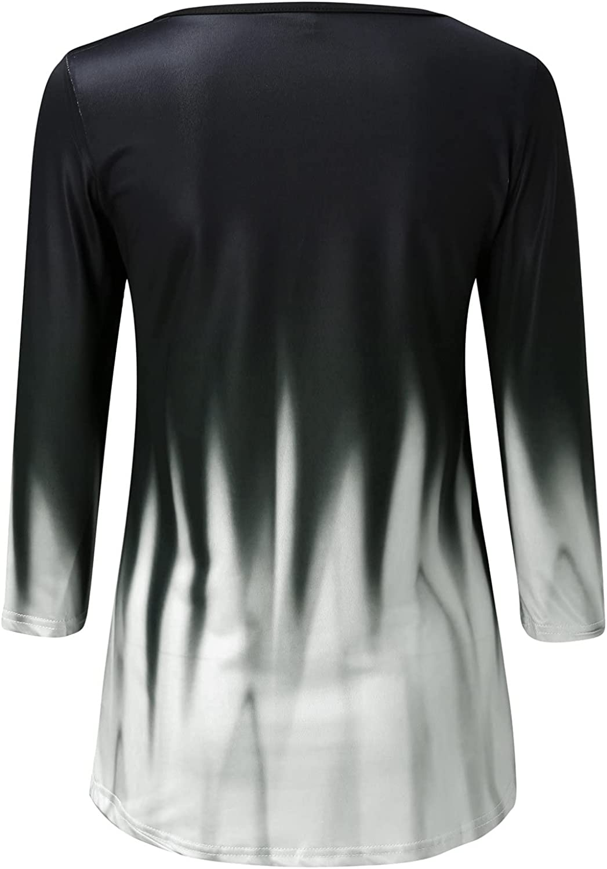 Womens Causal Cross Criss Pullover Tops Long Sleeve O Collar Sweatshirts Gradient Activewear Running Jacket Tshirts