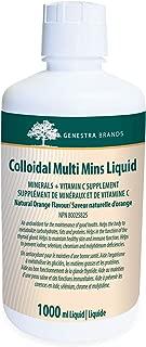 Genestra Brands - Colloidal Multi Mins Liquid - Multi Mineral Formula in Liquid Form - 33.8 fl oz (1000 ml)