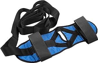 Lingge Stretchgordel voor voeten, stretchriem, atletische stretchriem met 7 ringen, flexibel, elastische fitnessstretchrie...