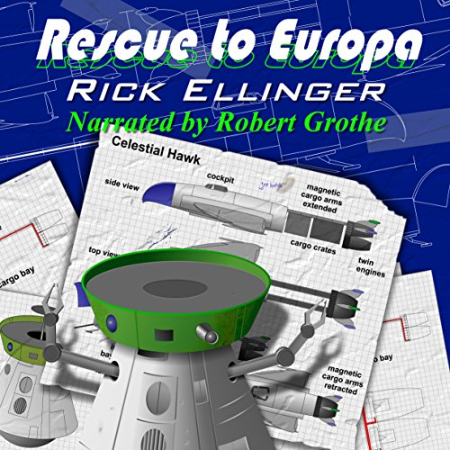 Rescue to Europa audiobook cover art