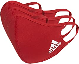 Adidas Face Cover Large, Power Red (Pack of 3)