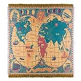 Manta Multifuncional para El Hogar, Manta para Sofá, Manta para Acampar Al Aire Libre, Manta Decorativa para RV, Manta para Picnic130*170cm