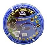 "S&M 553028 Manguera de jardinería Reforzada Blue Garden, Azul, Rollo 25 Metros- 15 x 20 mm- (5/8"")"