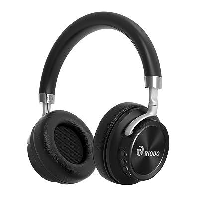 RIODO Bluetooth Headphones, Over Ear Foldable W...