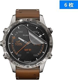 [ 6枚 ] Mihence Compatible (ガーミン) Garmin MARQ Watch フィルム, HD保護フィルム 対応 兼用 Garmin MARQ Expedition/Driver/Athlete/Aviator/Captain 腕時計 液晶保護フィルム プロテクター