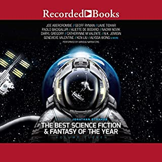 The Best Science Fiction and Fantasy of the Year, Volume 11 audiobook cover art