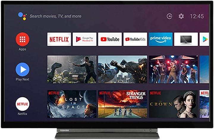 Smart tv toshiba 32la3b63dg 32` full hd dled wifi nero 5055862330166