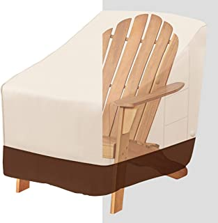 Tuyeho Patio Chair Cover 38 x 31 x 30 inch, 600D Heavy Duty Outdoor Adirondack Chair Cover, Waterproof & Weather Resistant...