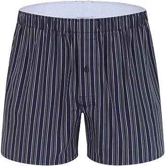 Men's Pyjama Shorts Casual 100% Cotton Plaid Lounge Wear Shorts Pajama Bottoms Half Pant Summer Boxer Briefs Sleepwear Adjustable Waist Household Home Pants Underwear Nightwear Hot Plus Size