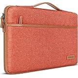 DOMISO Tasche Hülle für 15.6 Zoll Notebook Laptop Sleeve Hülle Wasserdicht Laptophülle Schutzhülle für Lenovo IdeaPad S510,ThinkPad E575/HP Pavilion x360/LG,Orange